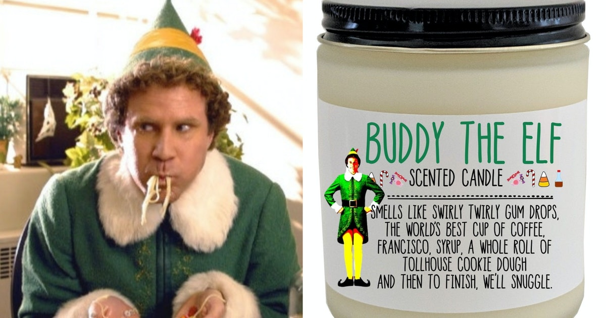 This Buddy The Elf-Scented Candle Is A Big Christmas Mood