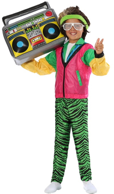 Boys 80s Jock Costume
