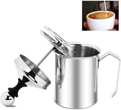 Haptime Manual Milk Frother