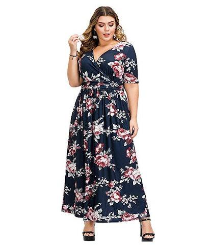 Love is Lovely Plus Size Wrap Dress