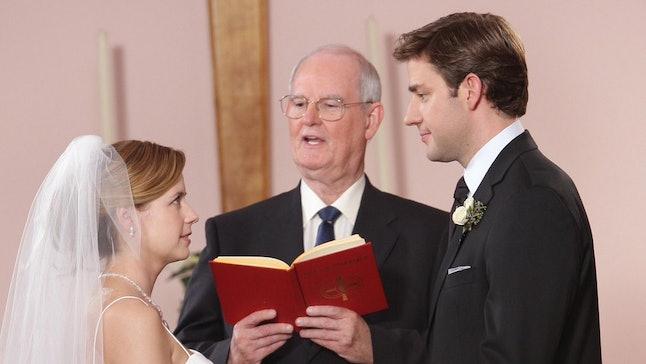 Jim and Pam wedding on 'The Office'