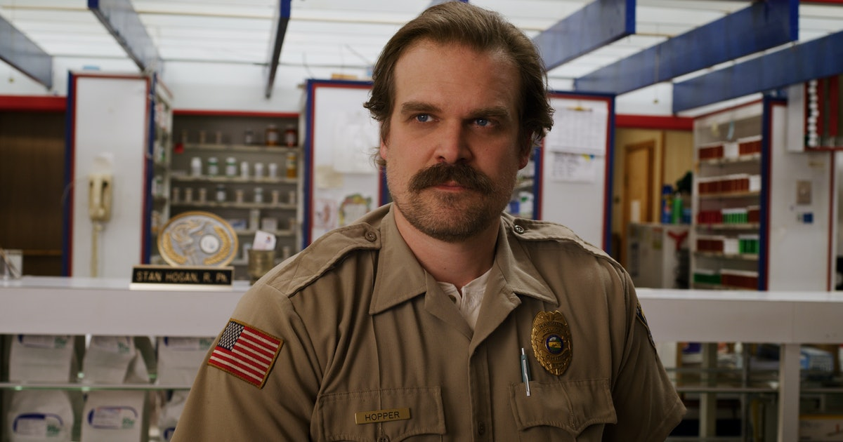 David Harbour Teased Hopper's Fate On 'Stranger Things' With A Phone Call