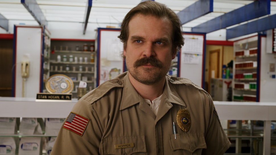 David Harbour, who plays Hopper on Stranger Things, teased his character's fate on Seth Meyers
