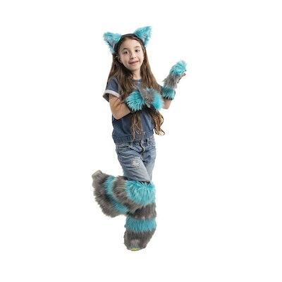 Kids Size Cheshire Cat Costume Set
