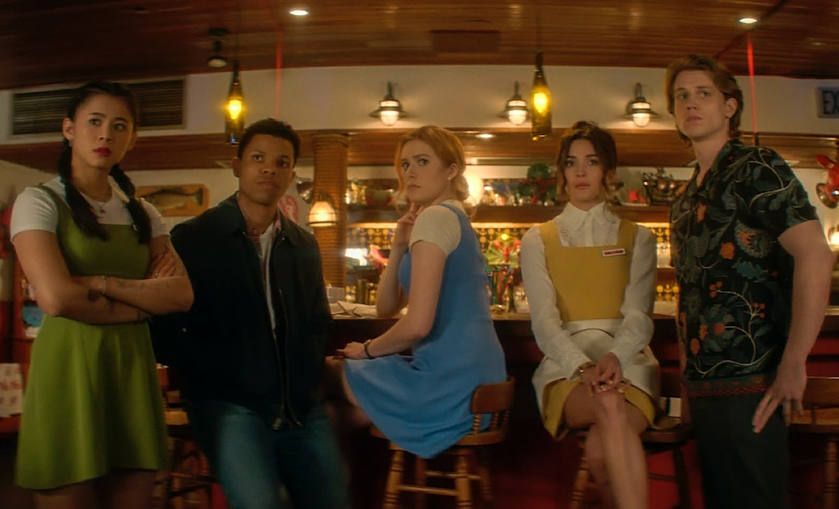 The cast of 'Nancy Drew' in the series premiere