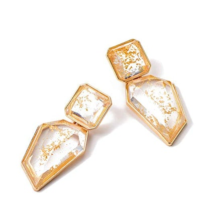 KELMALL COLLECTION Acrylic Crystal Drop Earring
