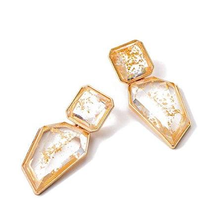 KELMALL COLLECTION Acrylic Crystal Drop Earring