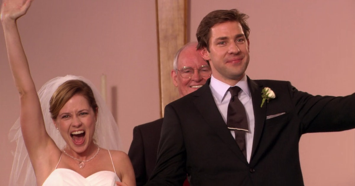 Jim & Pam's Wedding On 'The Office' Almost Ended Very Differently