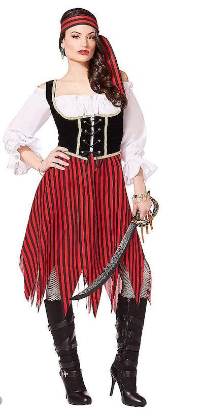 Adult Buccaneer Beauty Pirate Costume