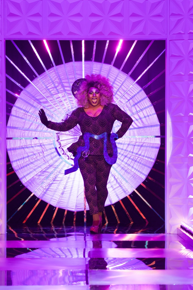 Vinegar Strokes was forced to ditch an outfit she prepared for Drag Race UK