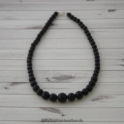 Black Baby Necklace