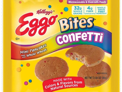 Kelloggs Eggo Bites Mini Pancakes In Confetti
