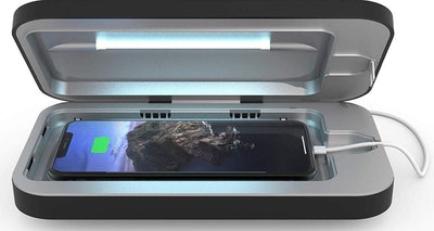 PhoneSoap 3 UV Cell Phone Sanitizer and Dual Universal Cell Phone Charger