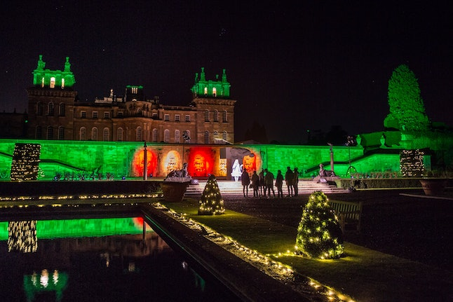 Blenheim Palace is a magical place to visit during Christmas