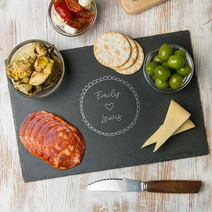 Personalized Cheese Board by Dust and Things