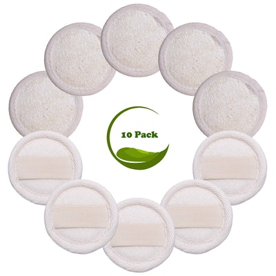 Sportout Exfoliating Facial Pads (10-Pack)