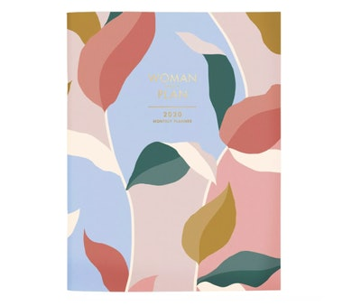 2020 Planner Textured Leaves - Create & Cultivate
