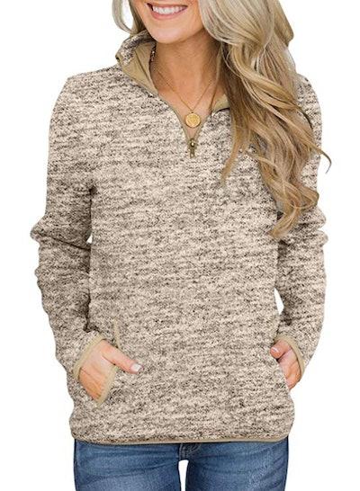 Actloe Half-Zip Pullover