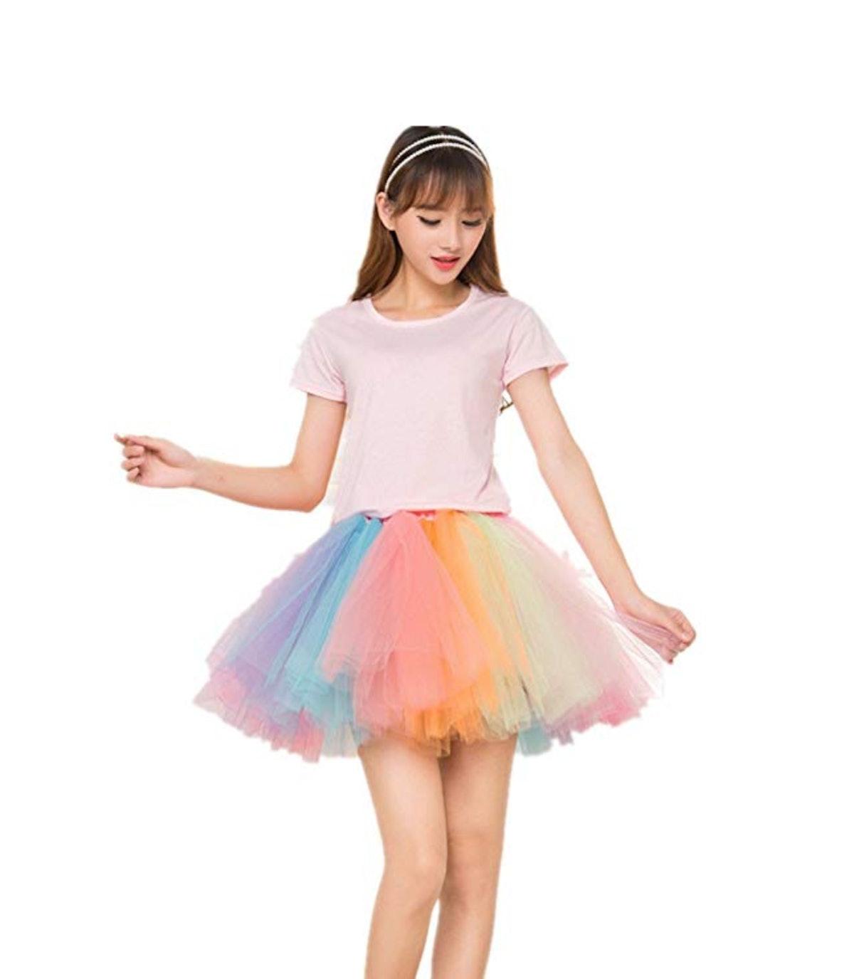 Adult Women 80's Tutu Skirt