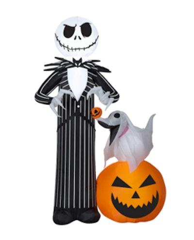 5ft. Airblown® Inflatable Halloween ©Disney Jack Skellington with Zero