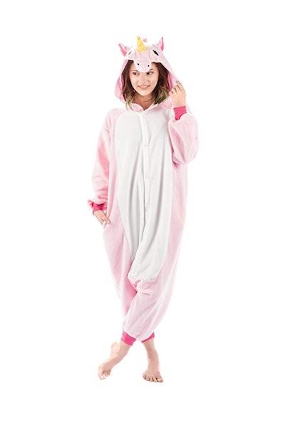 Emolly Fashion Adult Unicorn Animal Onesie Costume