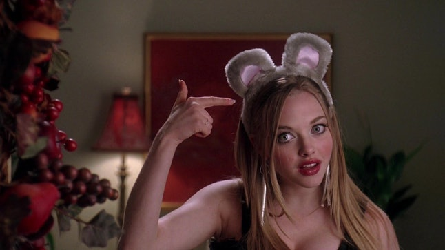 Dressing like a mouse, just as Karen did in 'Mean Girls,' is a popular Halloween costume.