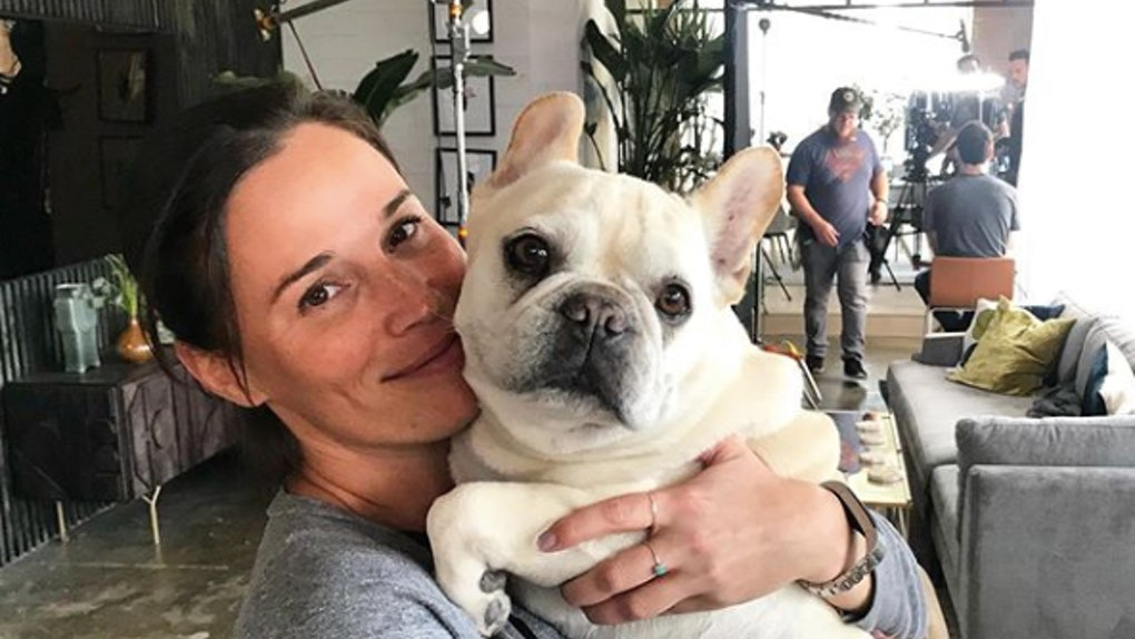 'Queer Eye's Bruley the French Bulldog and owner Michelle Silva