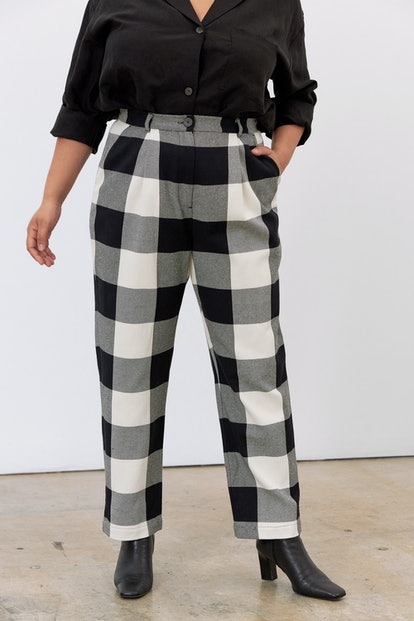 Dita Plaid Pant