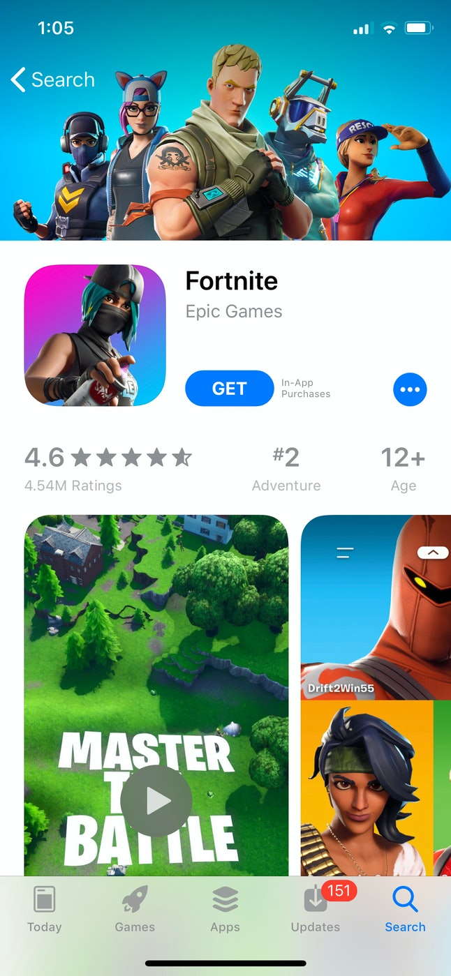 Fortnite is a popular Halloween costume.