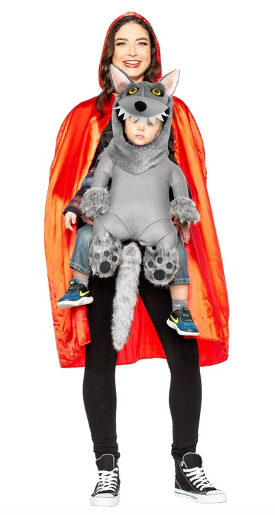 Little Red Riding Hood & Baby Wolf Costume