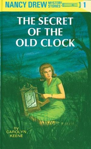 The Nancy Drew book The Secret of the Old Clock by Carolyn Keene