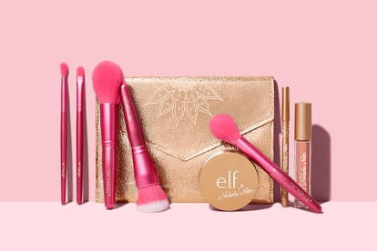 Products from the e.l.f. Cosmetics x Nabela Noor collection