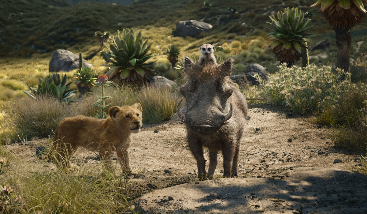 Pumbaa in Disney's Live Action The Lion King