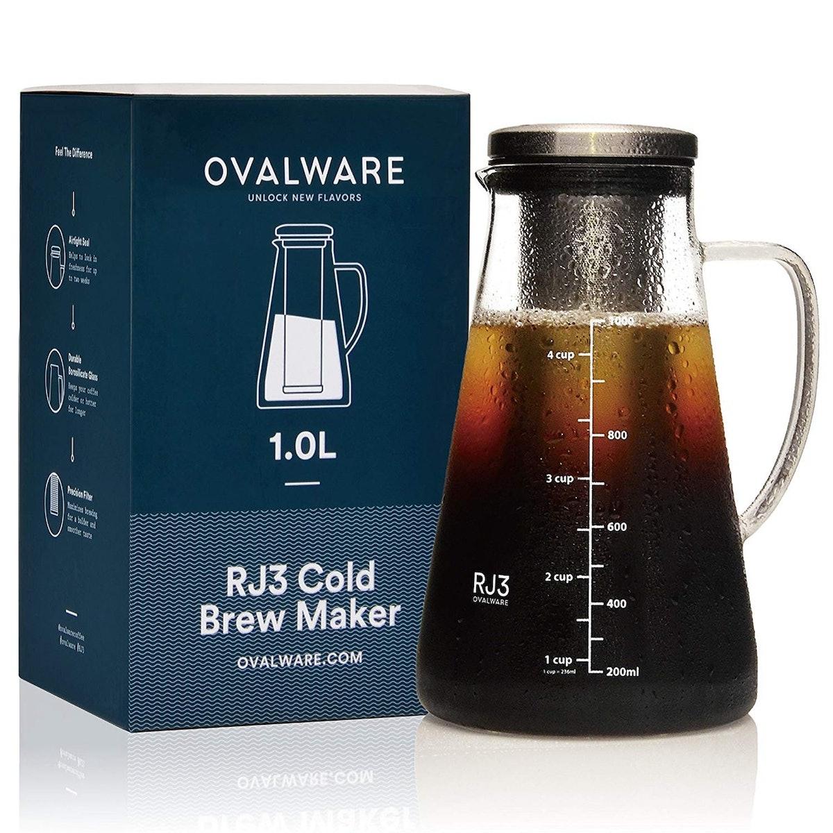 Ovalware Cold Brew Coffee Maker