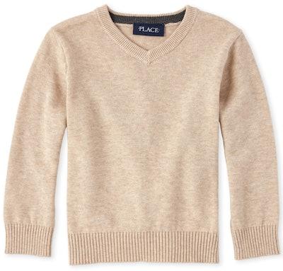 Baby Boy V Neck Sweater