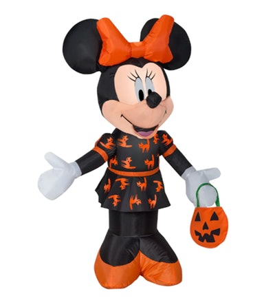 3.5ft. Airblown® Inflatable Halloween Black & Orange Minnie