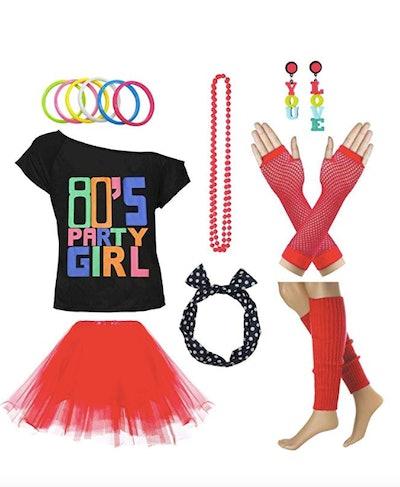 80's Party Womens Retro Costume