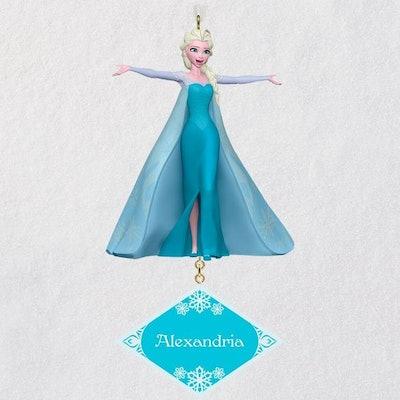 Disney Frozen Elsa Personalized Ornament