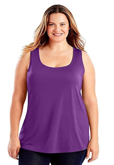 Just My Size Women's Plus Size Tank Top