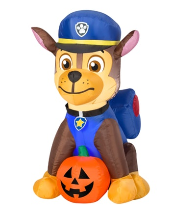 3ft. Airblown® Inflatable Halloween Paw Patrol™ Chase with Pumpkin