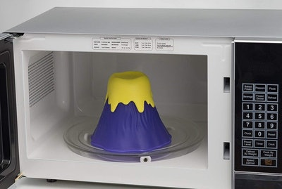 Kitchen Gizmo Volcano Microwave Cleaner