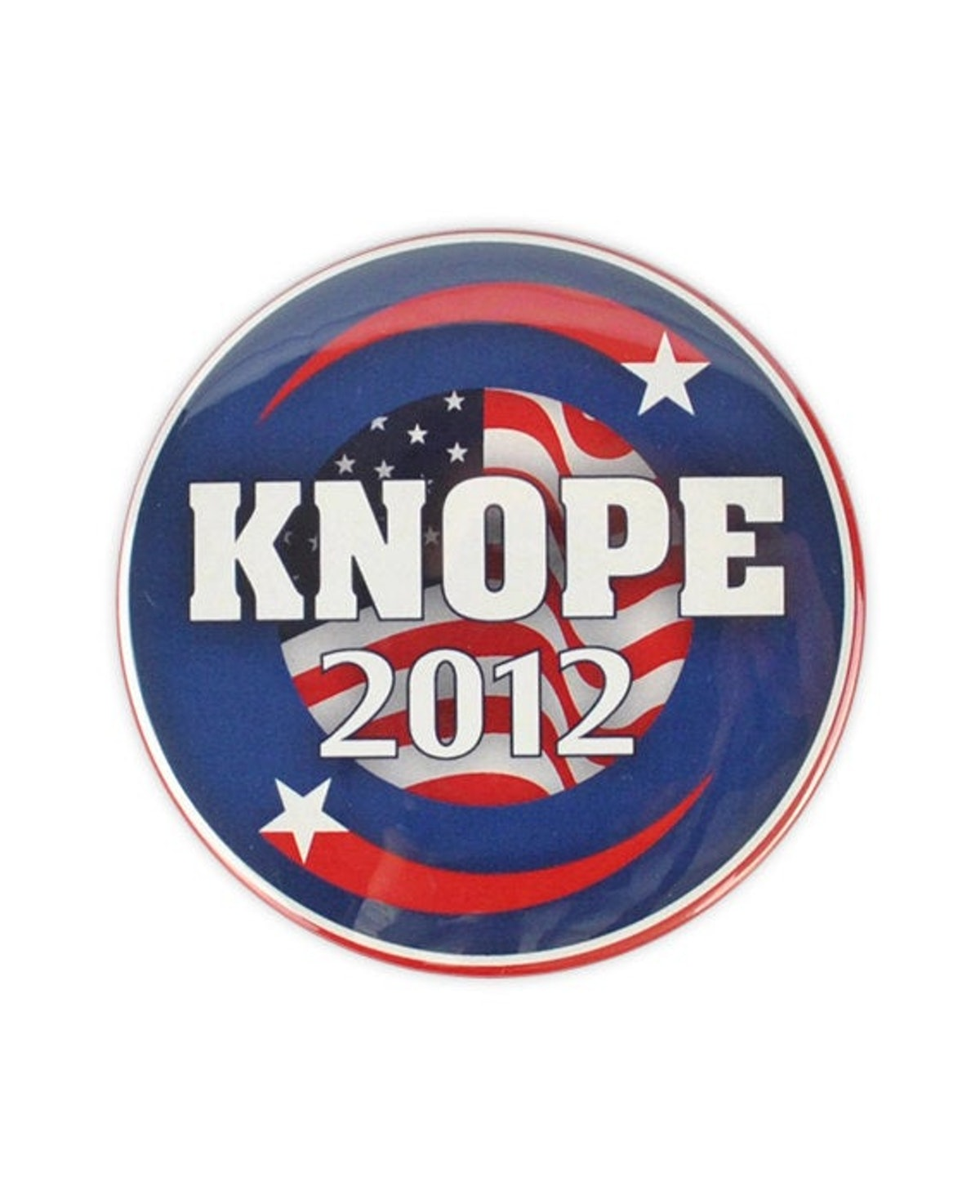 """YouCantgoBack Leslie Knope Large """"Knope 2012"""" Button! parks and recreation, Amy Poehler. pawnee council election"""