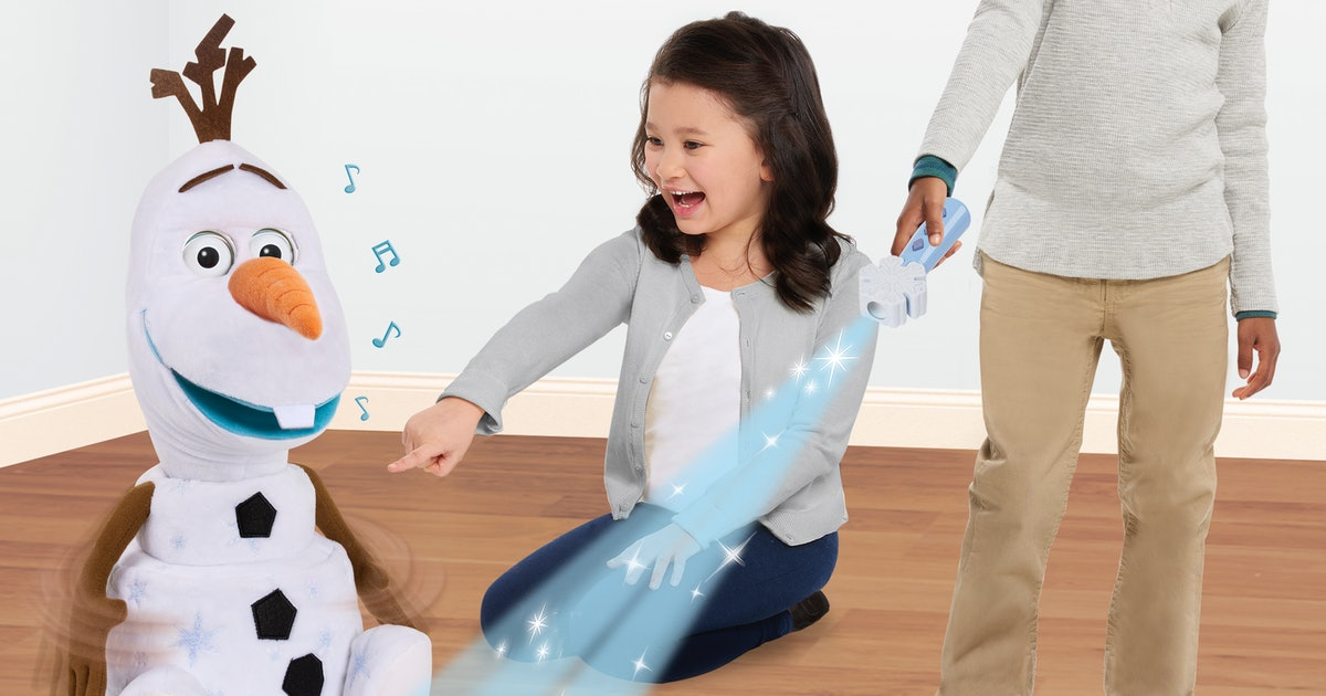 The Interactive Follow-Me Olaf Toy Walks, Talks, & Sings