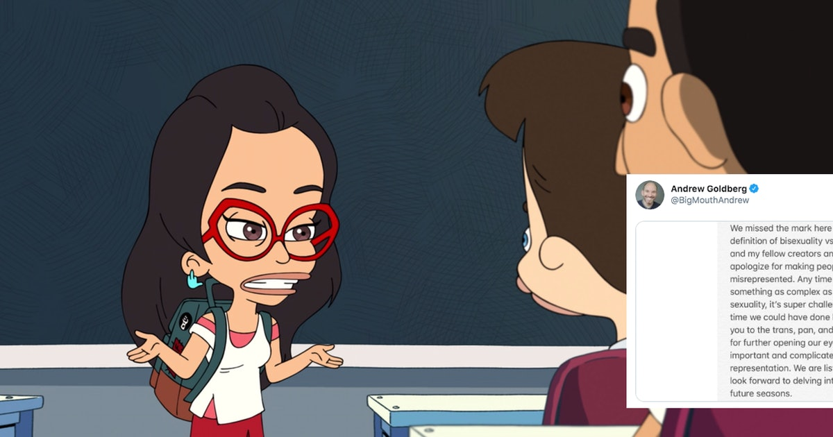 'Big Mouth's Co-Creators Apologized For Their Definition Of Pansexuality