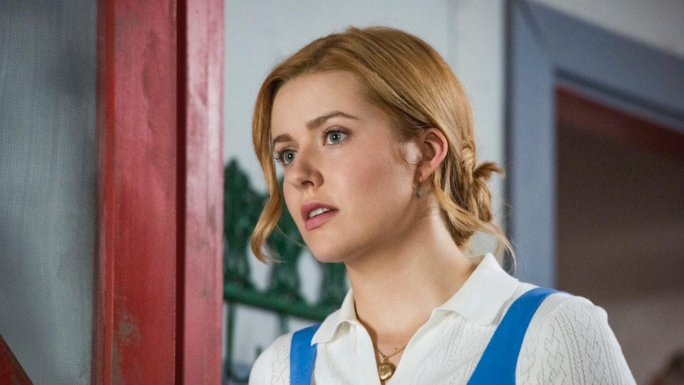 Kennedy McMann as Nancy in The CW series Nancy Drew