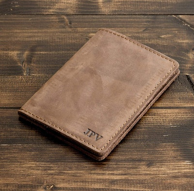 Personalized Passport Cover by Pegai