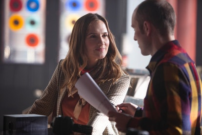 Ruth Bradley playing Angie in the BBC's 'Guilt'