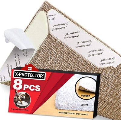X-Protector Rug Grippers (8-Pack)