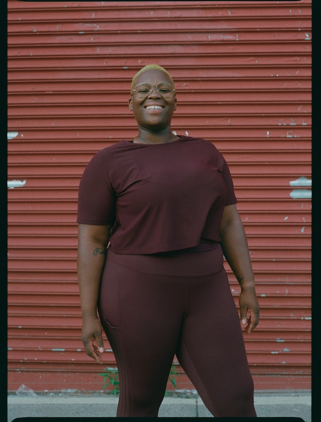 Universal Standard x Adidas celebrates women of all sizes and encourages all bodies to engage in sport.