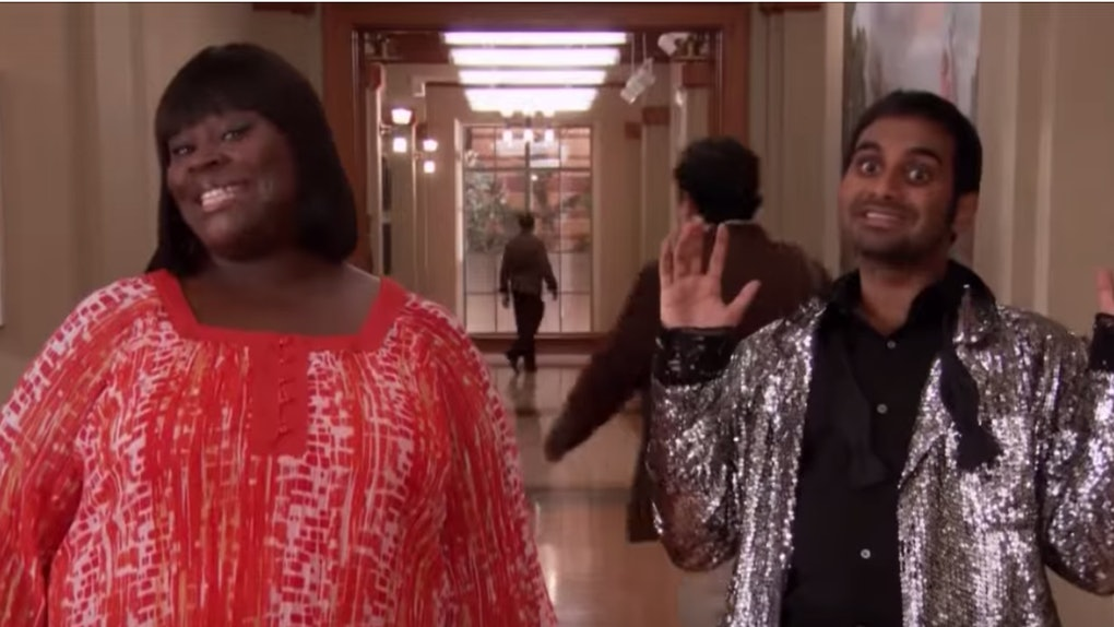 """Donna Meagle and Tom Haverford """"Treat Yo Self"""" Costumes"""